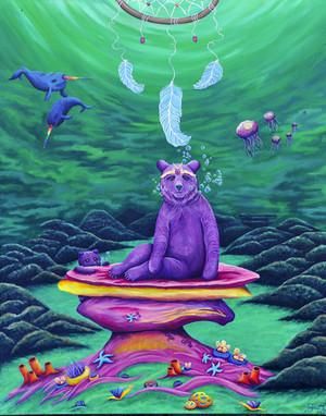 Sea Bear Goddess
