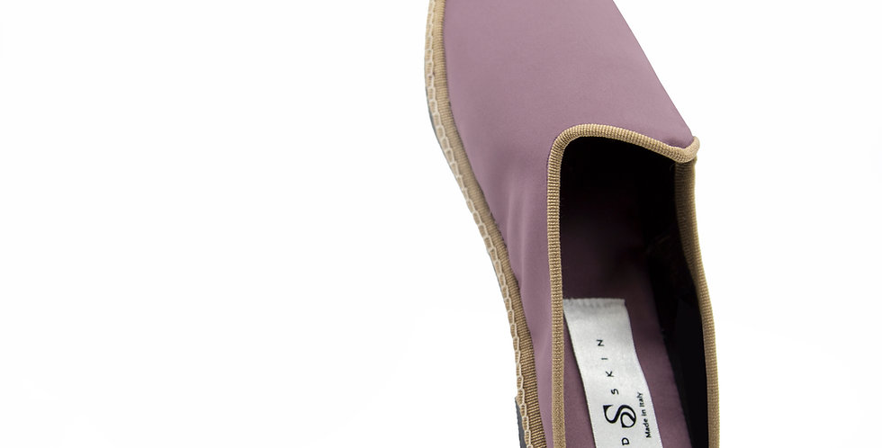 Le Friulane(Venus Slide ) in Rosewood Pink & Rich Bronze