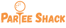 ParTee Shack Logo x - Orange (extended m