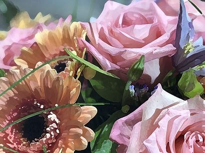 букеты красивых цветов