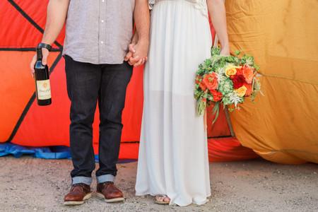 Danza Del Sol-Hot air balloon engagement