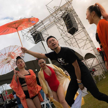 Sharing Japan culture at Soca Brainwash