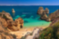 Algarve tranquil beach