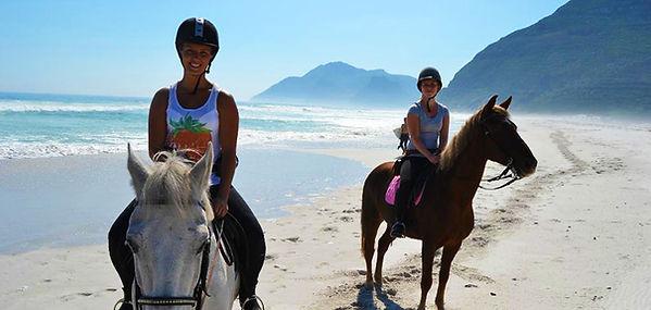 Algarve beach horseriding