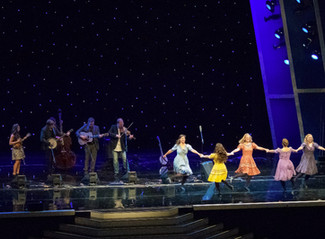 October 2, 2014 - Footworks receives a standing ovation after performing the opening number for the