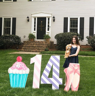 Happy 14th Birthday A!  We love you so m