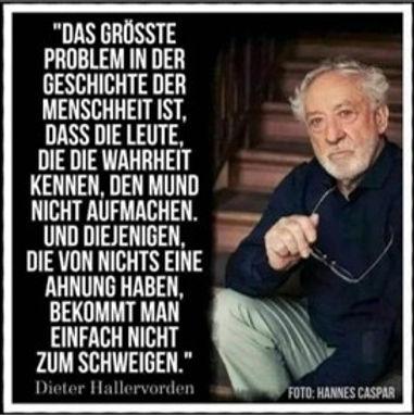 Zitat Dieter Hallervorden