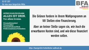 #GrueneEntzaubert #1