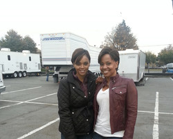 Stunts.....Sharon Leal