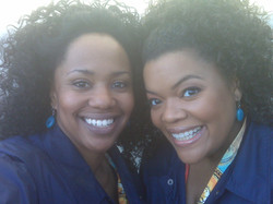 Stunts...Yvette Nicole Brown