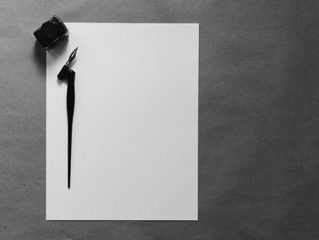 On Faith: Trust the Pen