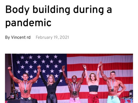 Mr. America, bodybuilding during a pandemic