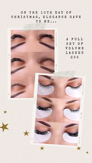 A Full Set Of Volume Lashes