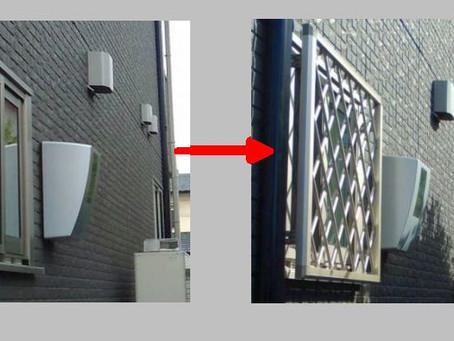 【施工事例】防犯対策で窓に面格子(奈良市)