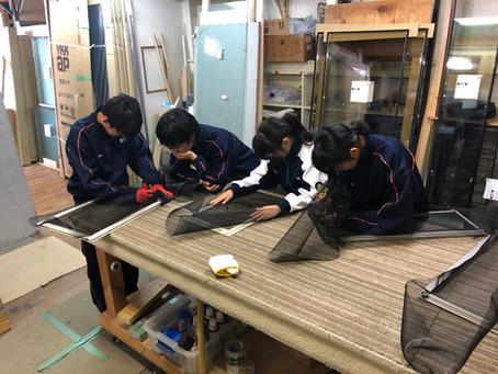 【ニュース】中学生の職場体験を受け入れました