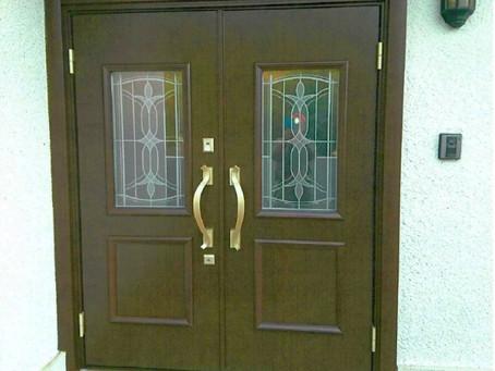 【施工事例】両開きドアで大きく開閉(桑名市)