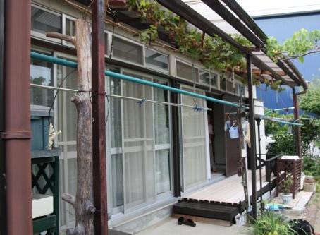 【施工事例】神戸市F様邸窓全面改修工事:電動シャッター取付ガラス入れ替え