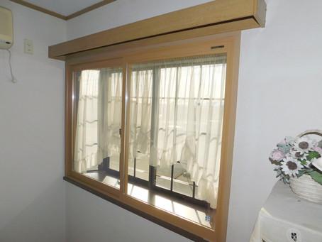 【施工事例】出窓に防犯ガラス二重窓(大阪市)