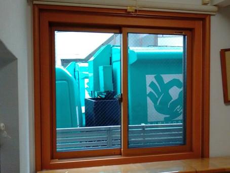 【施工事例】丸見えの窓をすりガラスに入れ替え(住之江区)