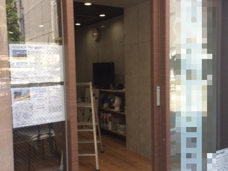 【施工事例】換気対策、自動ドア内側にも網戸を設置できます!(西宮市)