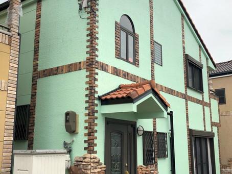 【施工事例】外壁塗装工事と、デッキテラスリニューアル(箕面市)