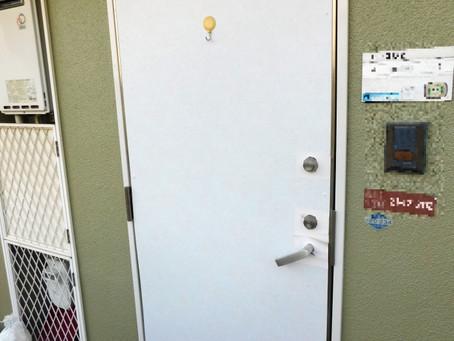 【施工事例】アパートドアを交換(枚方市)
