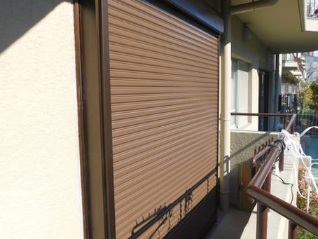 【施工事例】掃き出し窓に後付シャッター取付(河内長野市)