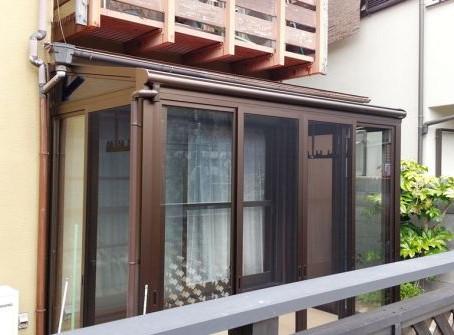 【施工事例】大人気サンフィールⅢで庭にサンルームスペース(池田市)