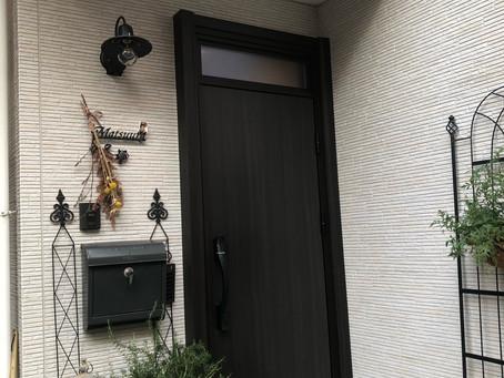 【施工事例】室外灯も合わせて素敵な玄関(大阪市)