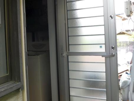 【施工事例】勝手口通風ドア取付(大阪市)
