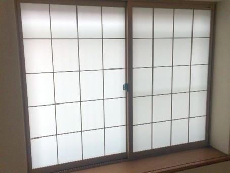 【施工事例】和障子の代わりに二重窓(大阪市)