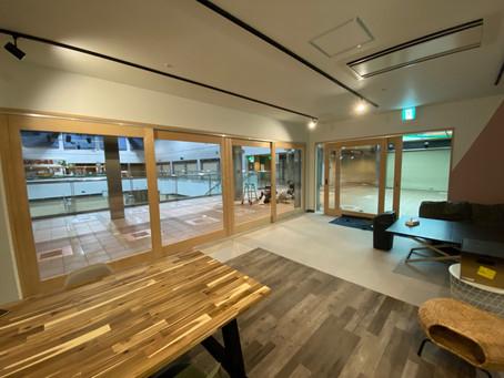 【施工事例】ガラスオープンの店舗や事務所はいかが(川西市)
