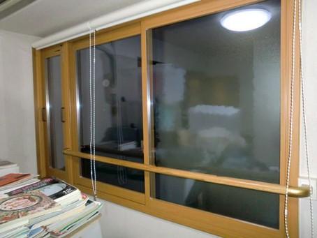【施工事例】池田市I様邸にて二重窓で冬の寒さ対策