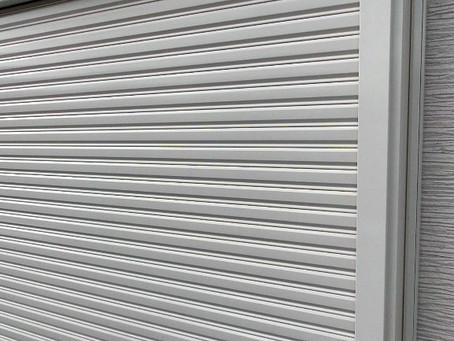 【施工事例】電動シャッター取付で台風対策(川西市)