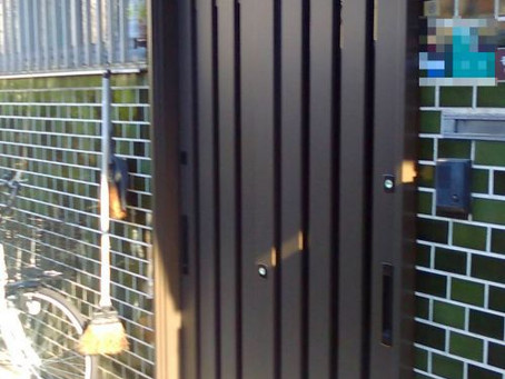 【施工事例】防犯面の不安な引戸を交換(大阪市西区)