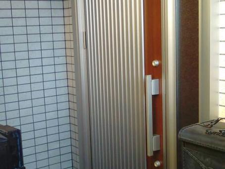 【施工事例】古い玄関ドアを一新、素敵な玄関(名古屋市)