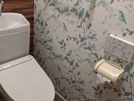 【施工事例】高原のカフェのような素敵なトイレ(大阪市)