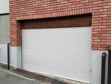 【施工事例】車庫のシャッターを交換(箕面市)