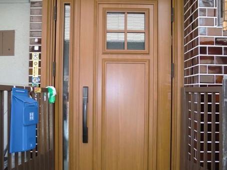 【施工事例】箕面市M様邸ドアリフォームで電気錠を設置
