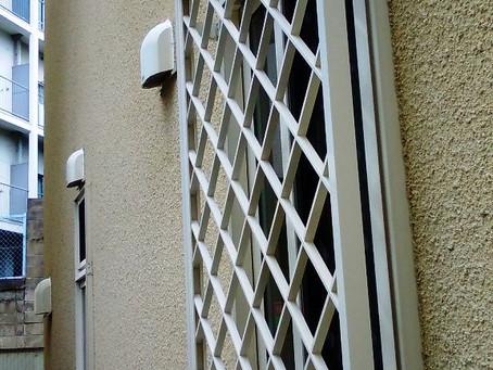 【施工事例】家の裏側の窓に防犯対策で面格子設置(豊中市)