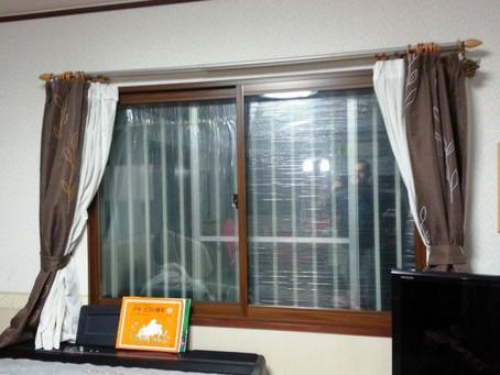 二重窓の断熱性を実感!実家が寒い・・・