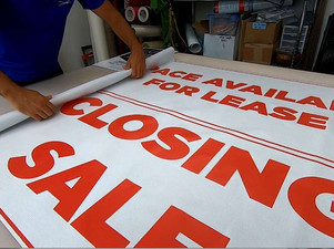 KHNL: Sign of the times: Orders for 'business closing' signs are way up
