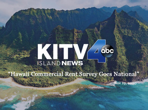 KITV4: Hawaii commercial rent survey goes national