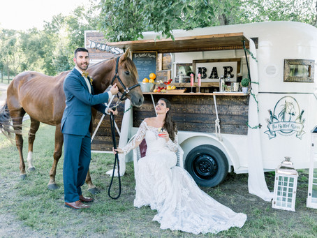 Here's To An Old Fashioned Heart That holds A Timeless Love | Classic Country Wedding