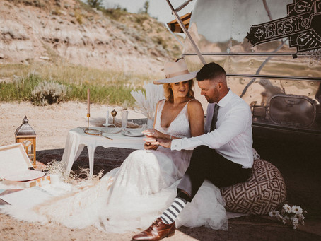 I'll Follow You Anywhere, As Your Arms Will Always Be Home | Drumheller Vow Renewal