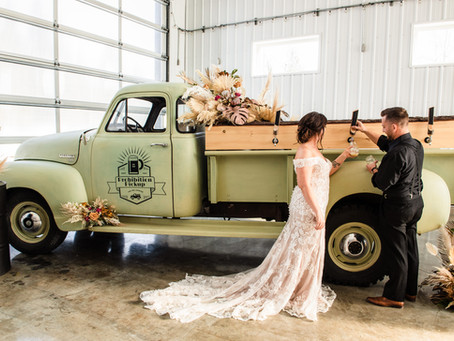 To Have and To Hold and To Keep Your BEER Cold | Industrail Wedding Vibes