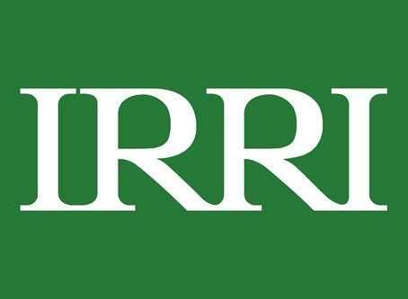 Congratulations IRRI