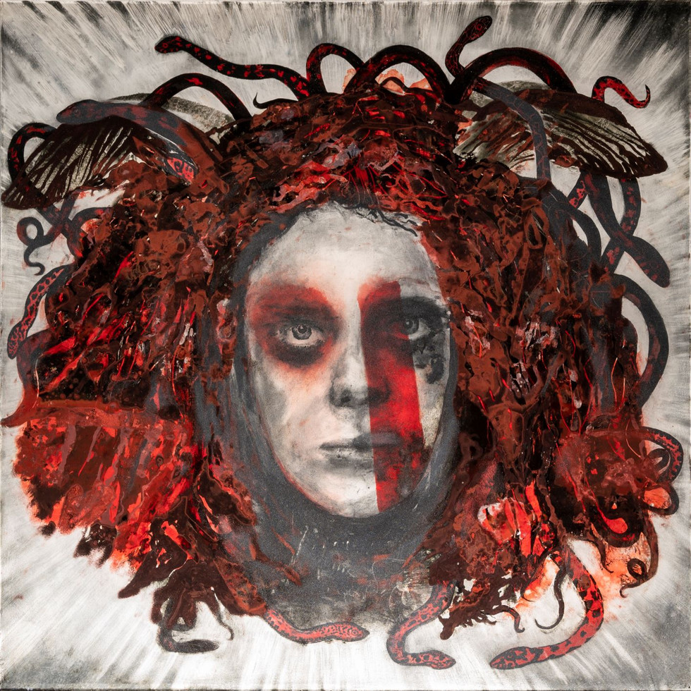 Medusa (detail from wall panel)