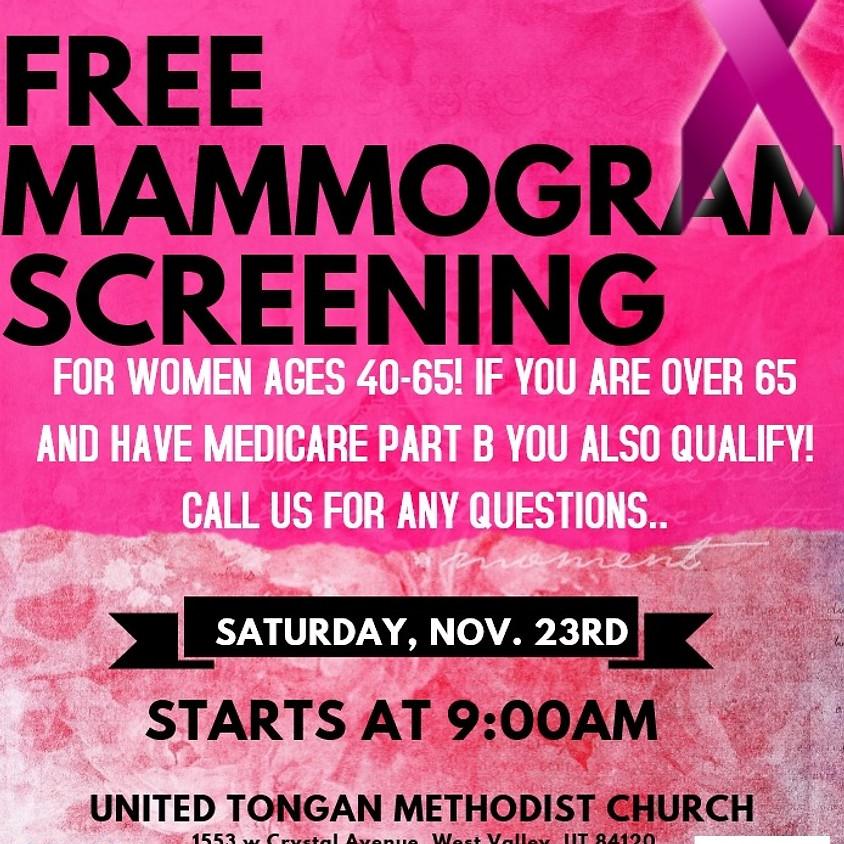 Free Mammogram Screening