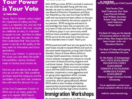 NTAS Newsletter